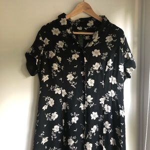 Ralph Lauren Silk Floral Midi/Maxi dress